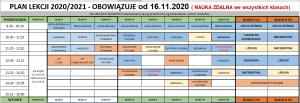 Plan od 16 listopada